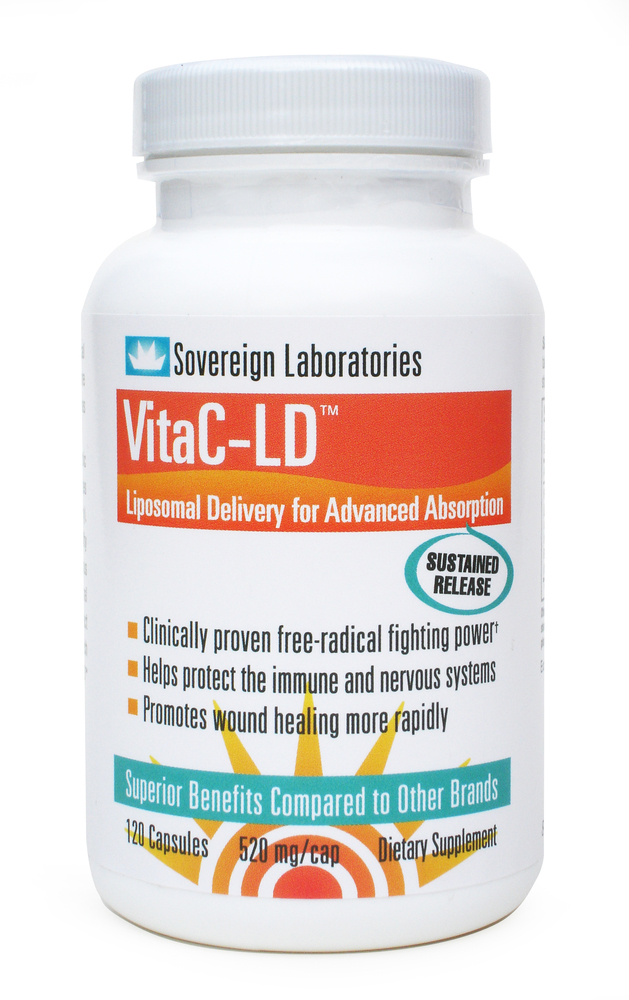 Colostrum VitaC LD Advanced Absorbtion - 120 capsules Image